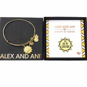 Alex & Ani You Are My Sunshine Charm Bracelet ☀️